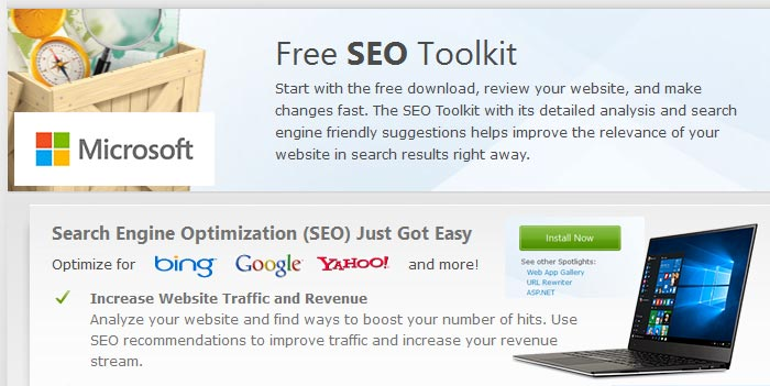 Free SEO Toolkit